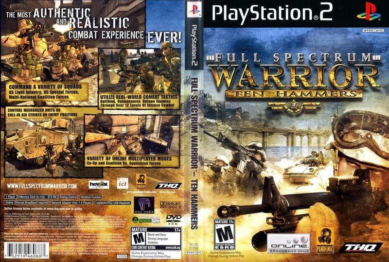 Ps2 - Full Spectrum Warrior- Ten Hammers Fullspectrumwarriortenhammersps2