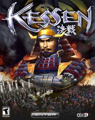 PS2 - KESSEN (jogo Raro) Keshen