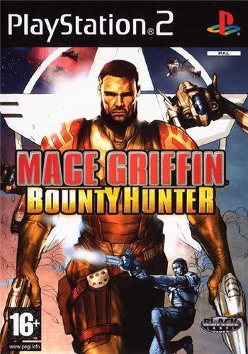 PS2 - Mace Griffin Bounty Hunter Macegriffinbountyhunterps2capa