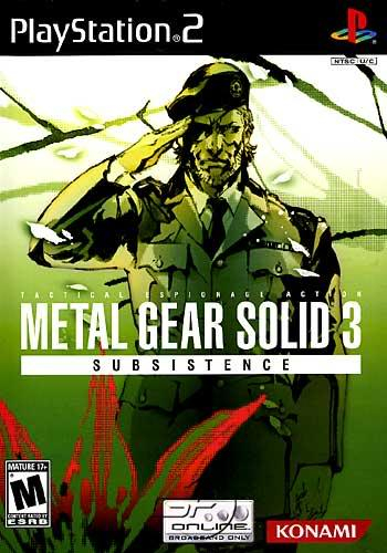 PS2 - Metal Gear Solid 3: Subsistence Metalgearsolid3