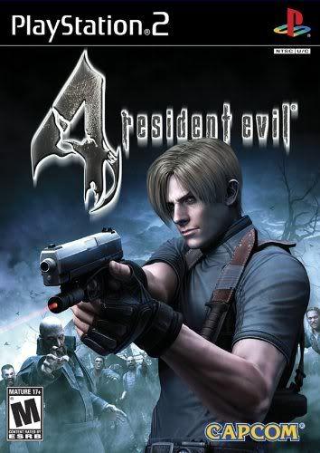 PS2 - Resident Evil 4 Resident4capa