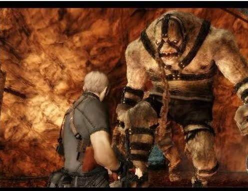 PS2 - Resident Evil 4 Resident4vselgigante