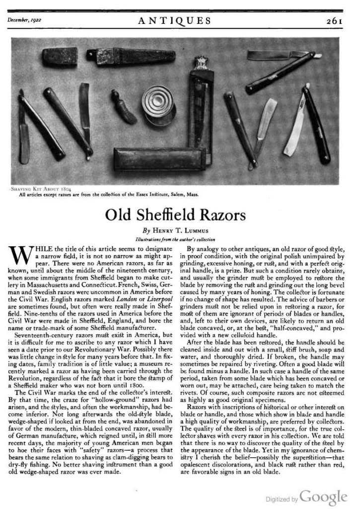 THE référence en matière de vieux sheffield Page261_ST