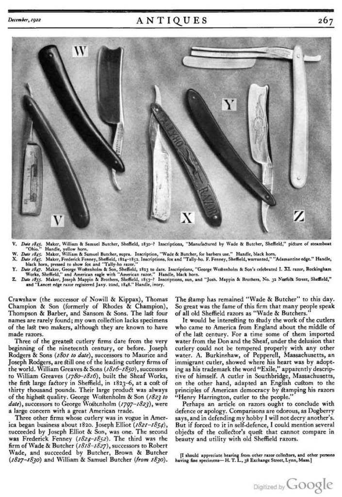 THE référence en matière de vieux sheffield Page267_ST