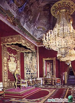Exposition « Trônes en majesté, l'autorité et son symbole » - Page 3 Salontronogranjadormitorioreal