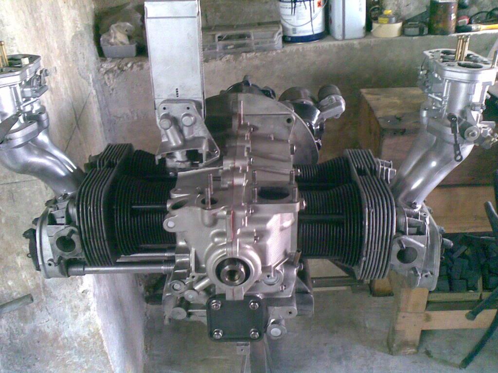 Restauro de um motor Flat4 do Carocha (antes e depois) 17102009