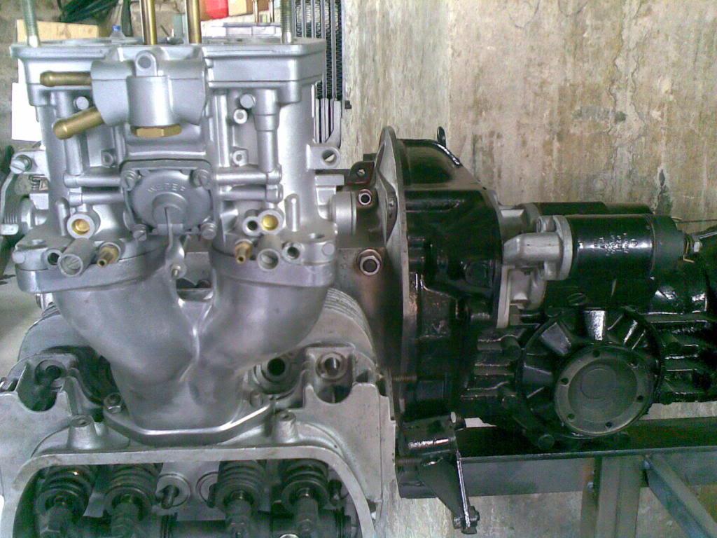 Restauro de um motor Flat4 do Carocha (antes e depois) 17102009003