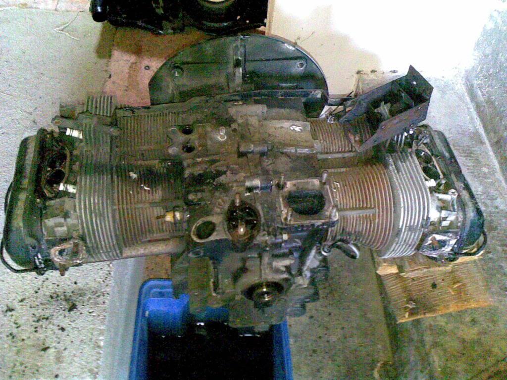 Restauro de um motor Flat4 do Carocha (antes e depois) Nokia175