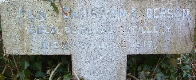 Colonel:  William Christian Anderson Anderson2