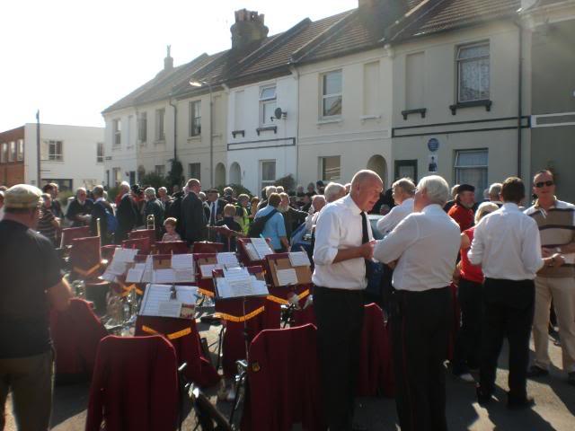 Private  William Cooper Event in Worthing Sussex CIMG3731