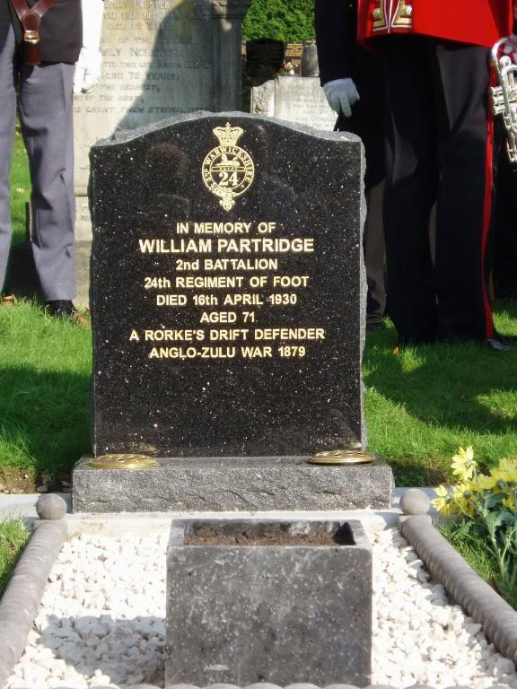 1410 Pte William Partridge 1410PteWilliamPartridgeStone