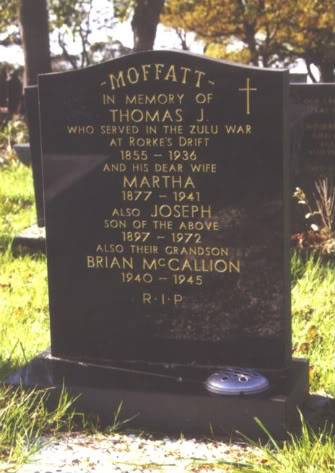 968 Private Thomas Moffatt, 968PteThomasMoffatt
