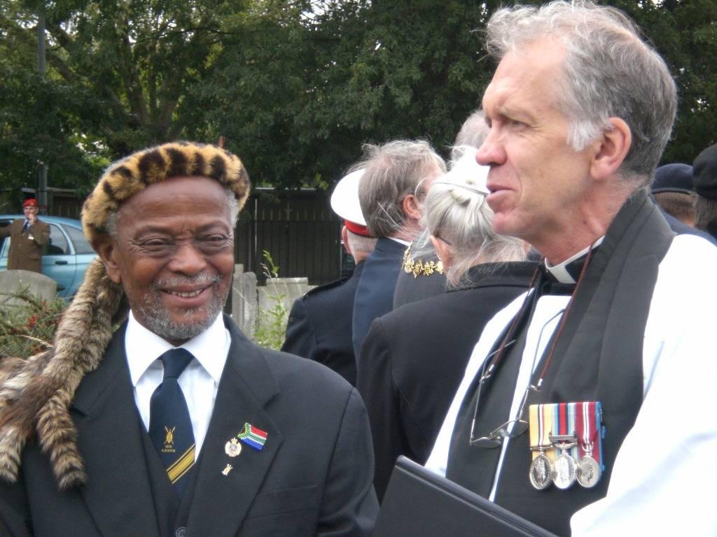 Re-dedication to Arthur Howard (Gunner Royal Artillery) 16th Sep 2012 018a28ea