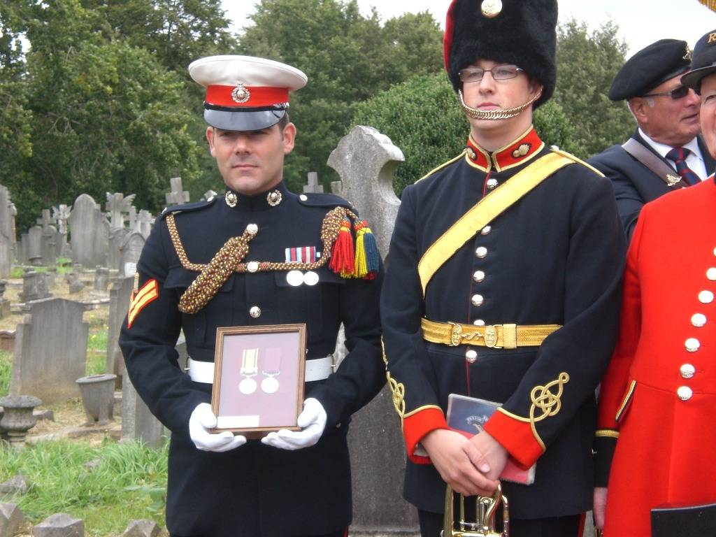 Re-dedication to Arthur Howard (Gunner Royal Artillery) 16th Sep 2012 1d61414a