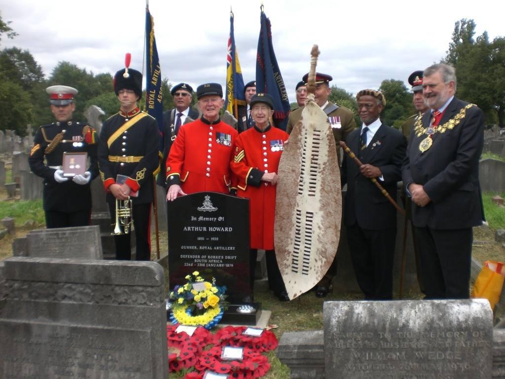 Re-dedication to Arthur Howard (Gunner Royal Artillery) 16th Sep 2012 25c60986