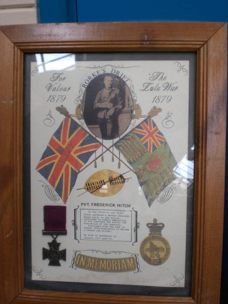 Re-dedication to Arthur Howard (Gunner Royal Artillery) 16th Sep 2012 27e38477