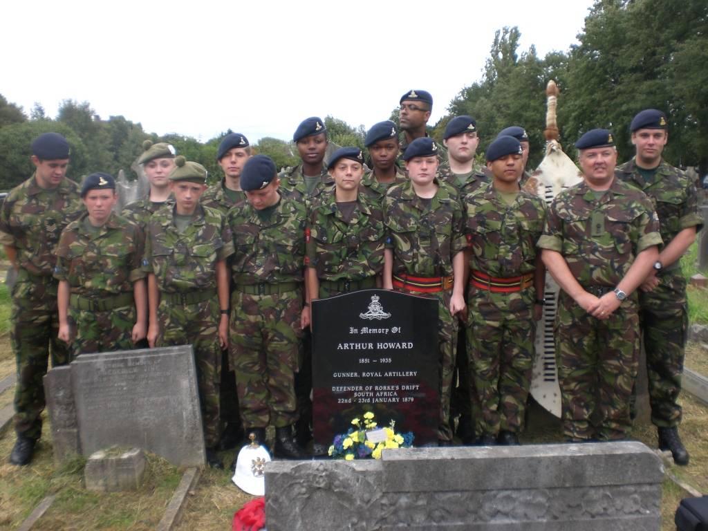 Re-dedication to Arthur Howard (Gunner Royal Artillery) 16th Sep 2012 309ee461