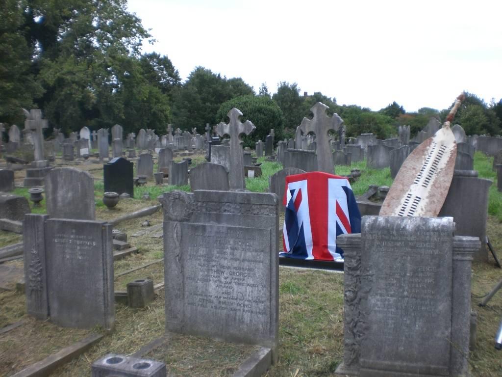 Re-dedication to Arthur Howard (Gunner Royal Artillery) 16th Sep 2012 36f07d69