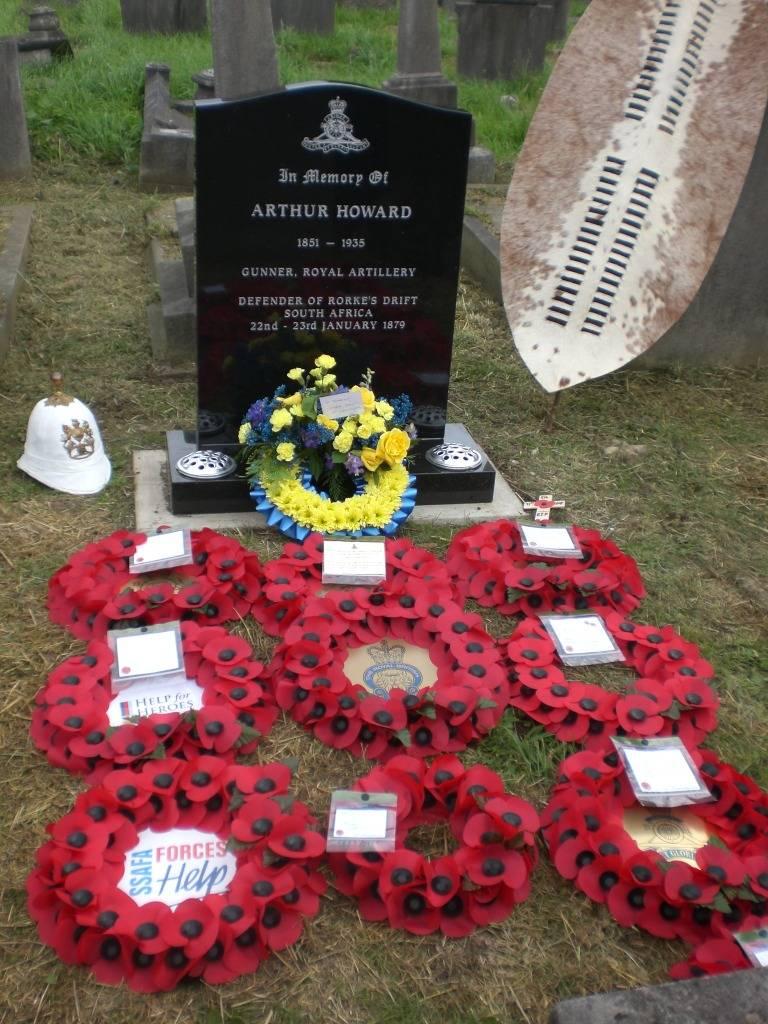 Re-dedication to Arthur Howard (Gunner Royal Artillery) 16th Sep 2012 64bc2758