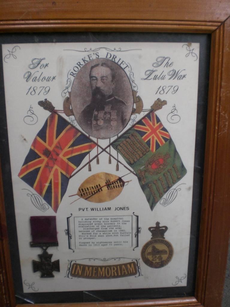 Re-dedication to Arthur Howard (Gunner Royal Artillery) 16th Sep 2012 657466cc