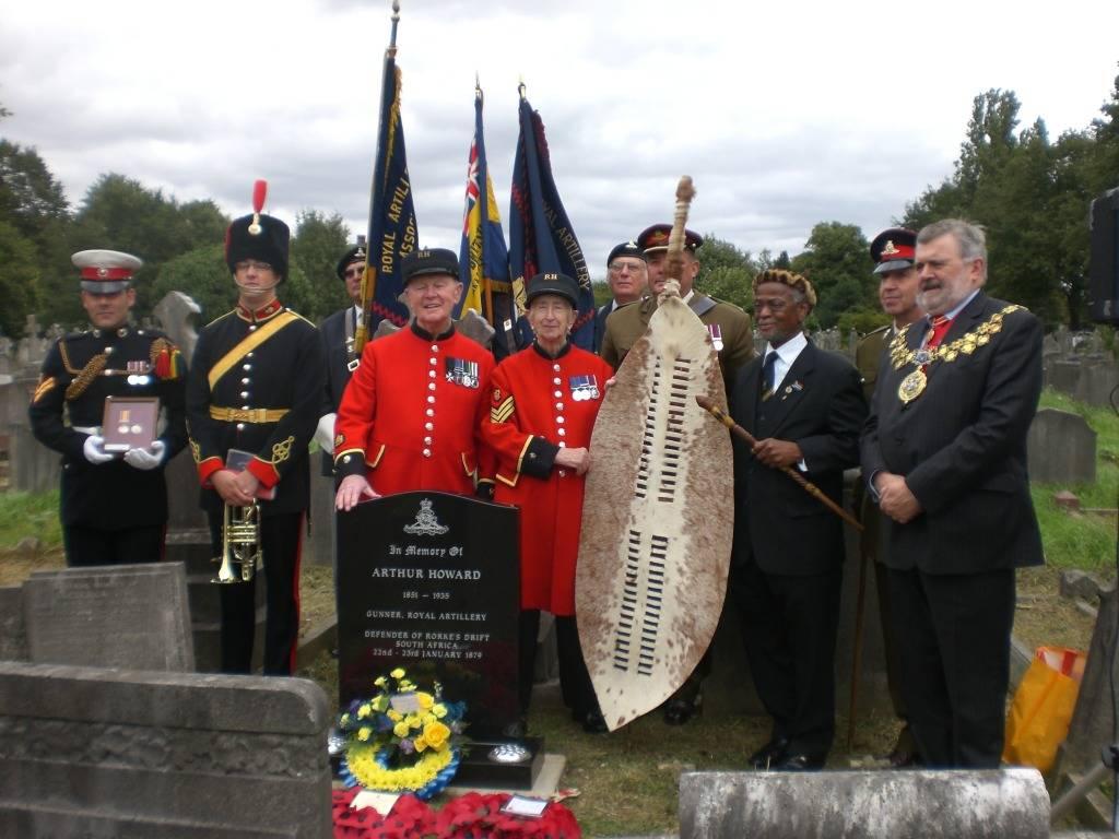 Re-dedication to Arthur Howard (Gunner Royal Artillery) 16th Sep 2012 664ca7bc