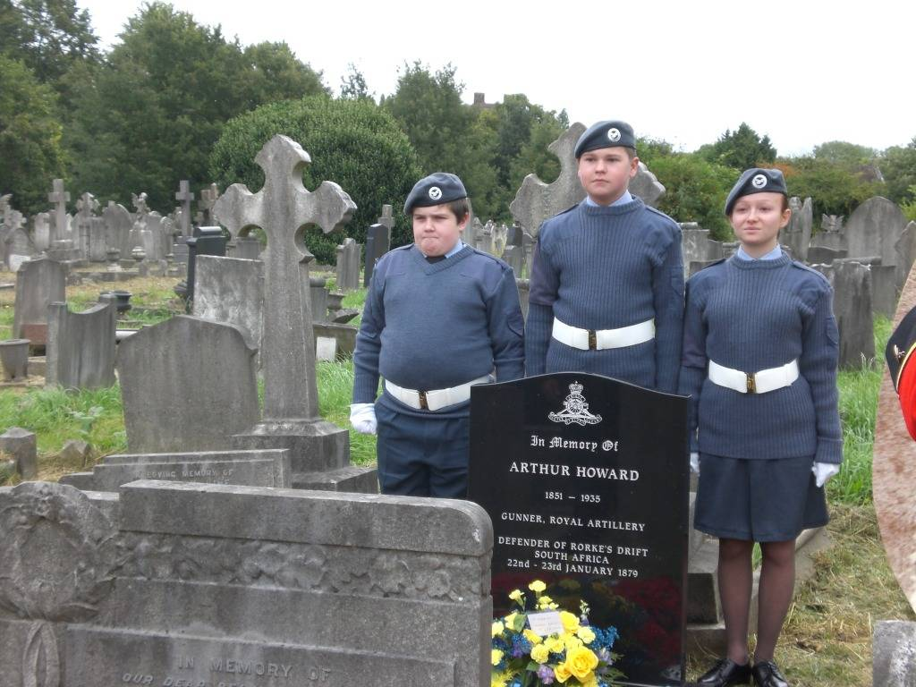 Re-dedication to Arthur Howard (Gunner Royal Artillery) 16th Sep 2012 732e33fe