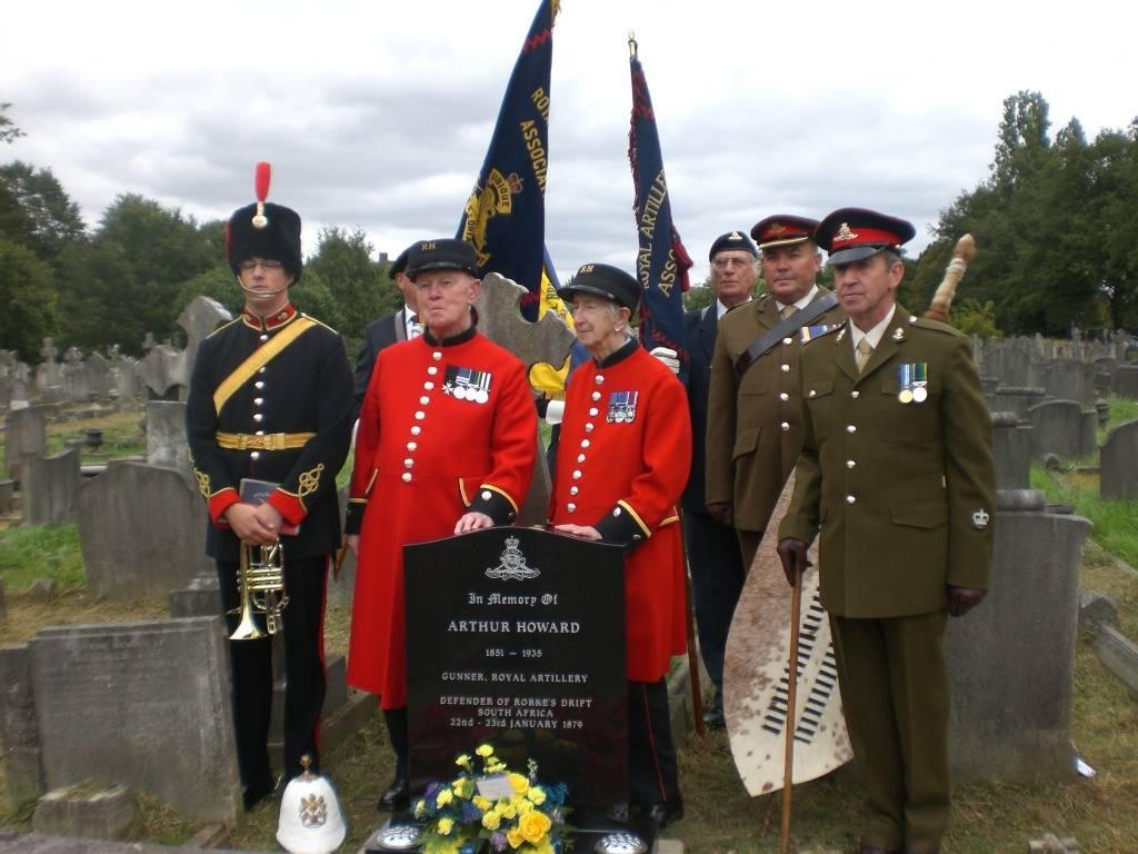 Re-dedication to Arthur Howard (Gunner Royal Artillery) 16th Sep 2012 766c936c