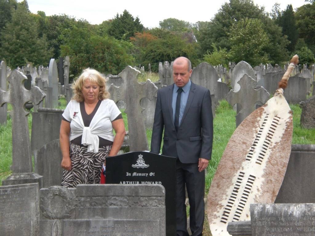 Re-dedication to Arthur Howard (Gunner Royal Artillery) 16th Sep 2012 8ba131d0