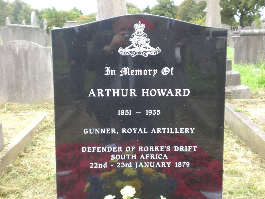 Re-dedication to Arthur Howard (Gunner Royal Artillery) 16th Sep 2012 8da77ae6