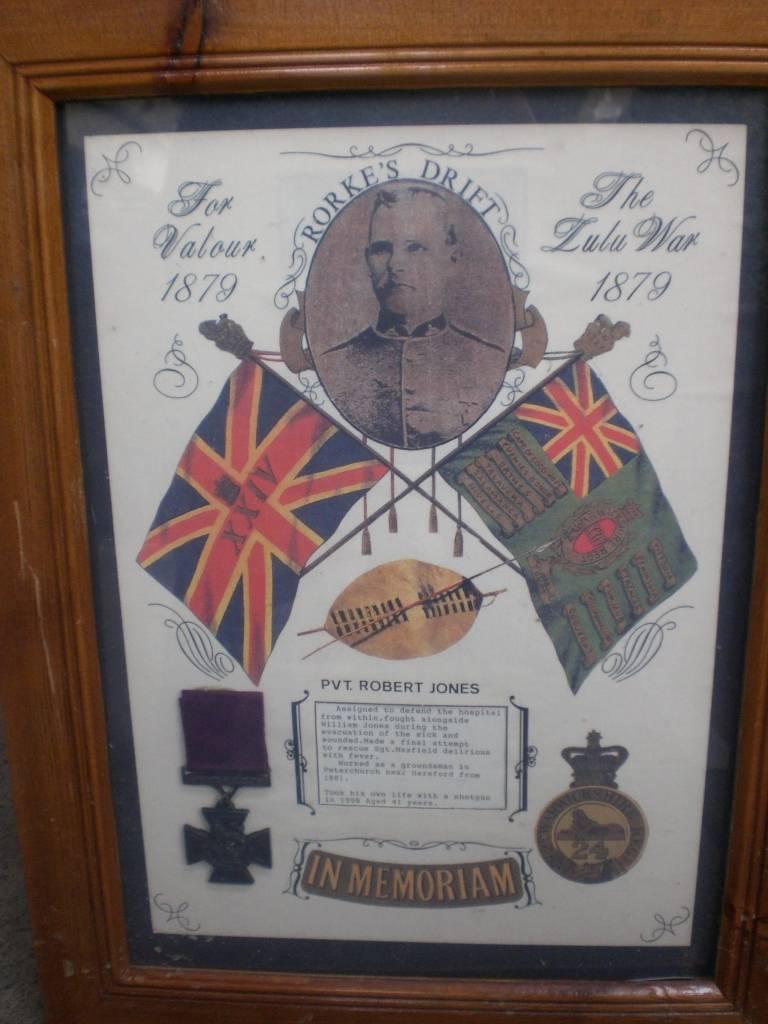 Re-dedication to Arthur Howard (Gunner Royal Artillery) 16th Sep 2012 9e11e4b2