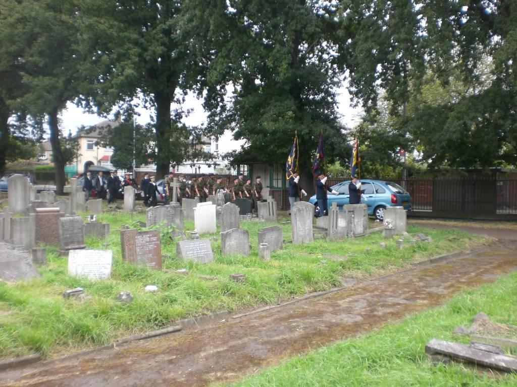 Re-dedication to Arthur Howard (Gunner Royal Artillery) 16th Sep 2012 Af542069