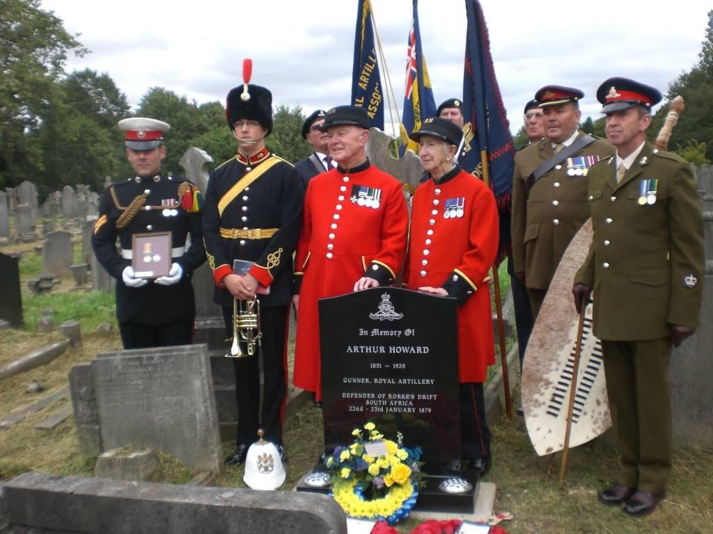 Re-dedication to Arthur Howard (Gunner Royal Artillery) 16th Sep 2012 Bb4b98b2