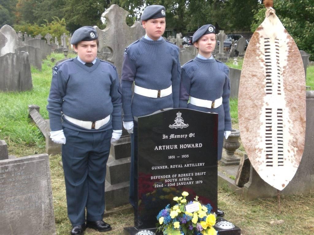 Re-dedication to Arthur Howard (Gunner Royal Artillery) 16th Sep 2012 D4075850