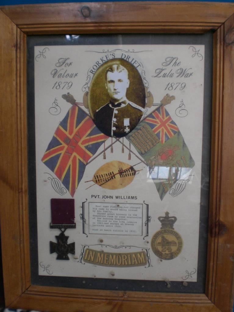 Re-dedication to Arthur Howard (Gunner Royal Artillery) 16th Sep 2012 Da1aaf12