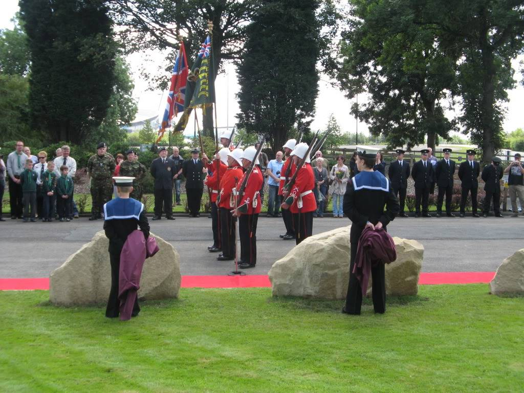 Philips Park Cemetery. 24th July 2011 Service or Re-Dedication of Plaques Commemorating. 51b6bcb8