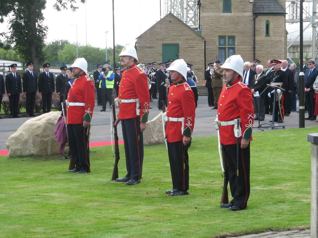 Philips Park Cemetery. 24th July 2011 Service or Re-Dedication of Plaques Commemorating. 879c8f6a