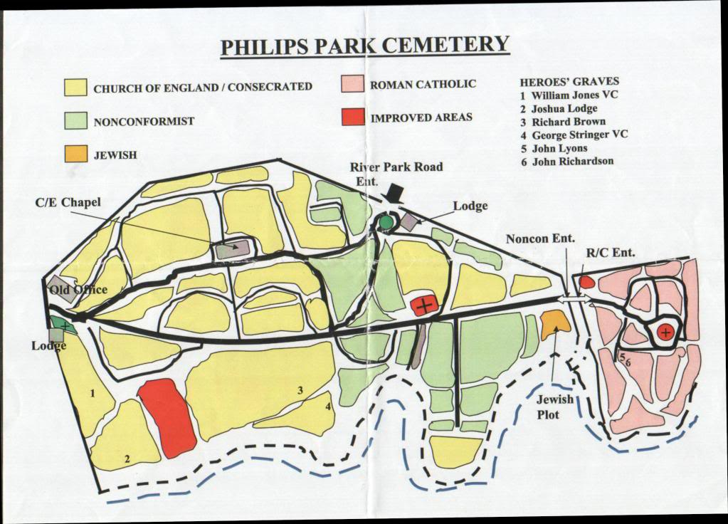 Philips Park Cemetery. 24th July 2011 Service or Re-Dedication of Plaques Commemorating. B51c401b