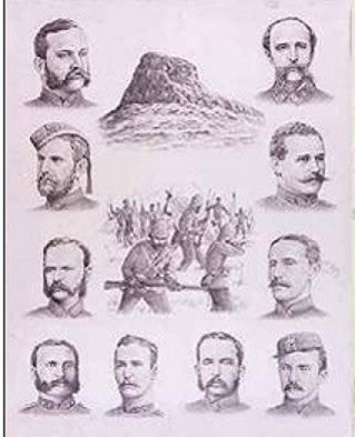 Officers Killed at the Battle Of Isandlwana OfficersKilled