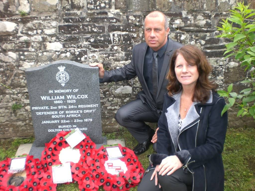 A Rededication Ceremony In Memory of Rorke's Drift Defender William Wilcox. 8th May 2011 Dolton Devon. A3eece4a
