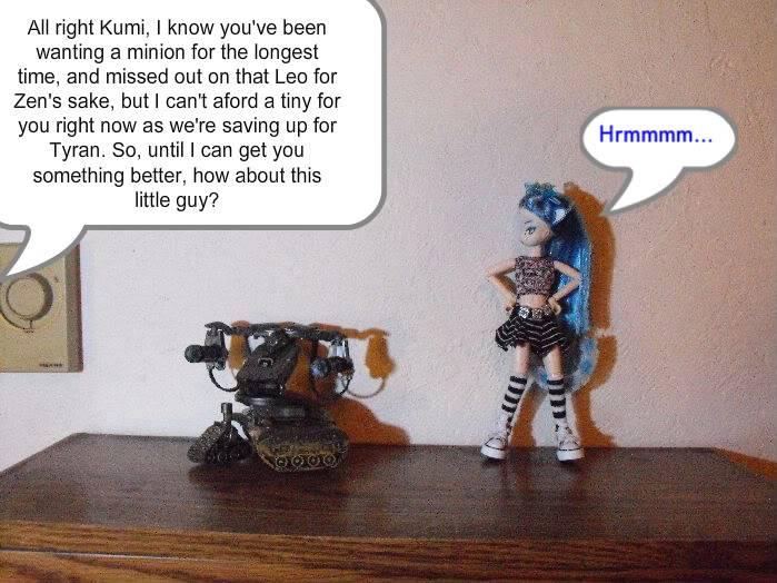 Kumi's Tails - The Metal Minion Kumiminion1-001