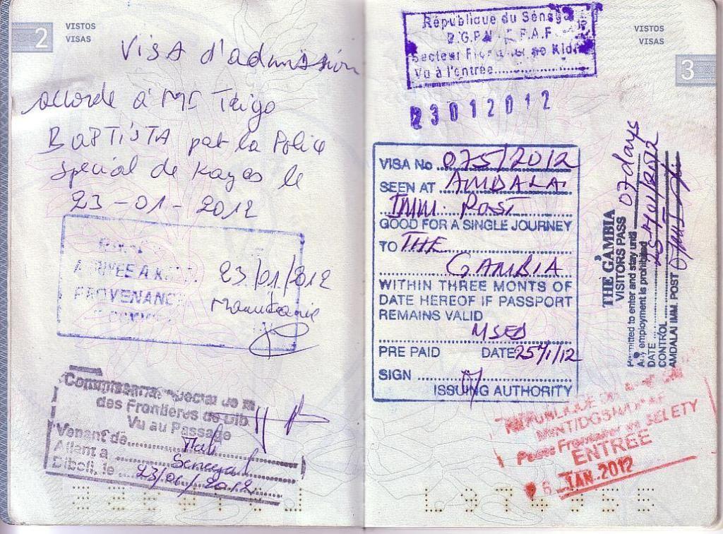 Memórias de África Central 2012 - 19Janeiro-02Fevereiro 01-PASSAPORTE-CARIMBOS-5