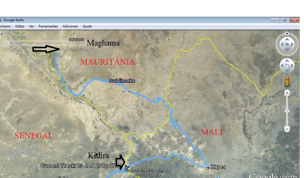 Memórias de África Central 2012 - 19Janeiro-02Fevereiro GPX-120123