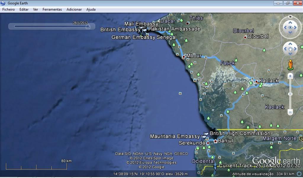 Memórias de África Central 2012 - 19Janeiro-02Fevereiro GPX-120125