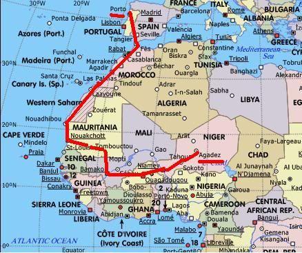 Africa  2012  - O Sahel e a excelência do Povo Tuareg,  19 Janeiro Projeto-2012-1