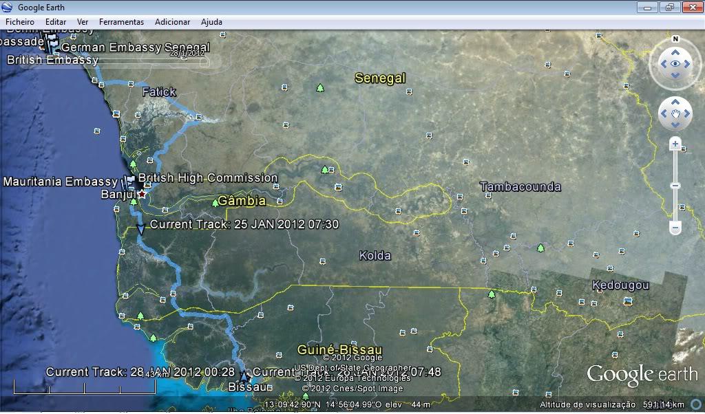 Memórias de África Central 2012 - 19Janeiro-02Fevereiro Gpx-120126