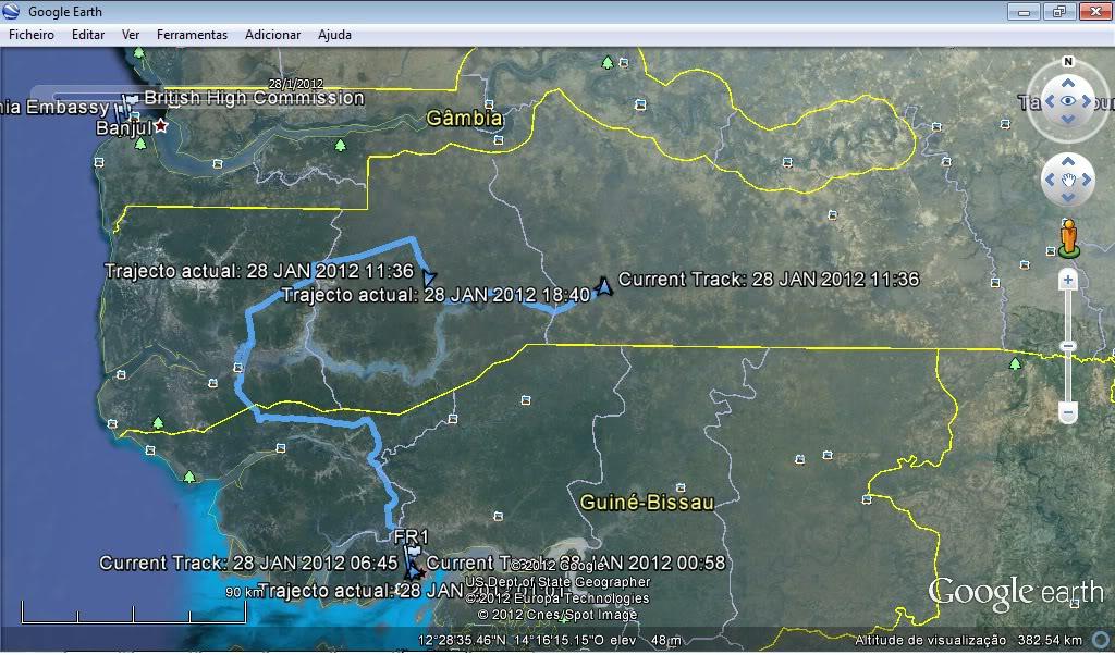 Memórias de África Central 2012 - 19Janeiro-02Fevereiro Gpx-120128