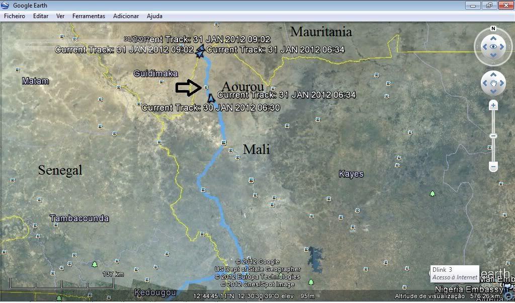 Memórias de África Central 2012 - 19Janeiro-02Fevereiro Gpx-120130