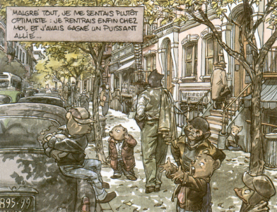 Šta se čita ovih dana ? - Page 2 Blacksad-streetscene