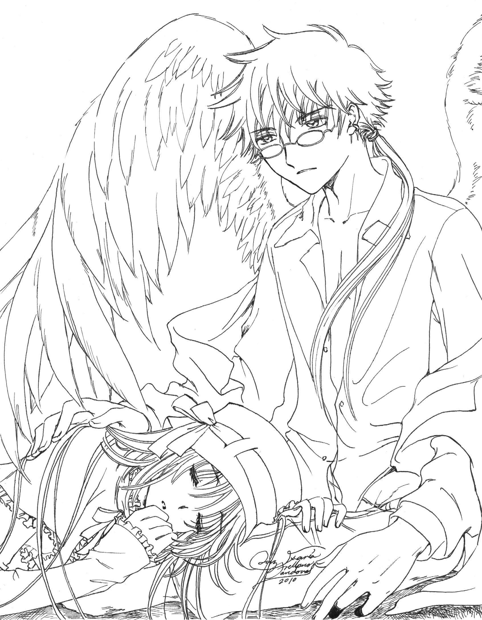 Lujoso Anime Bff Para Colorear Ilustración - Ideas Para Colorear ...