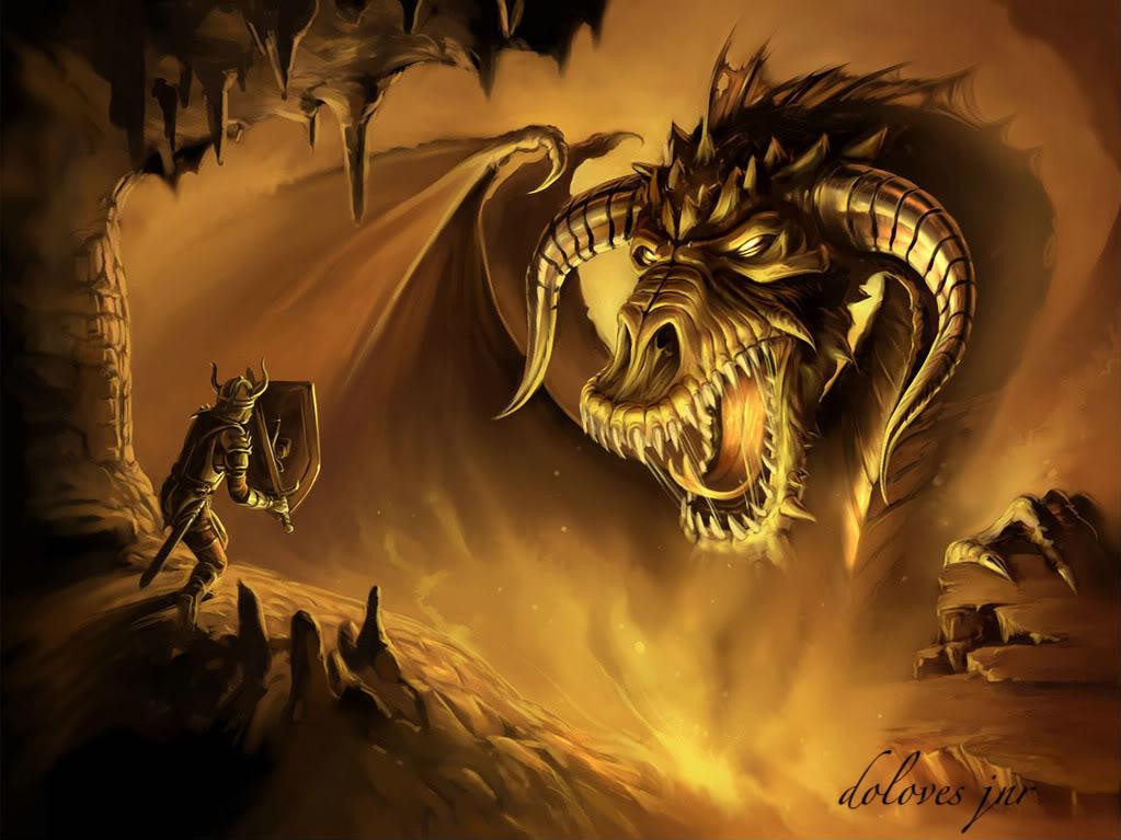 Новый год 2012 - Год Дракона Dragon-slayer-wallpaper-1